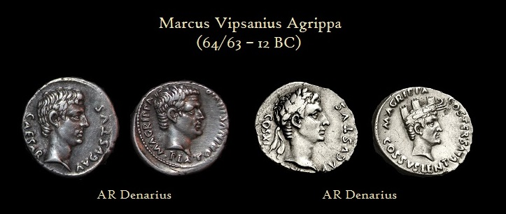Agrippa DENOMINATIONS by Augusturs