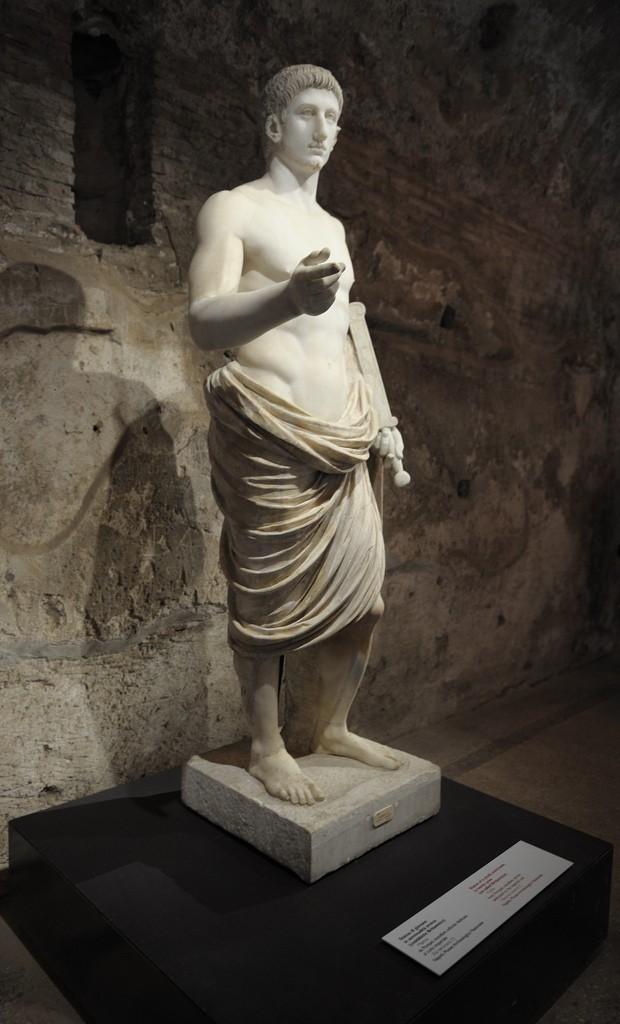 Britannicus Bust Pompeii