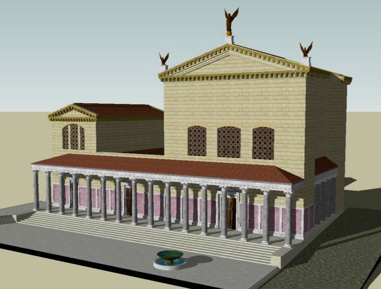 Curia Julia Reconstruction