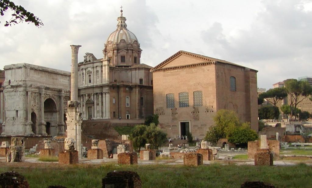 Curia Julia Roman Forum