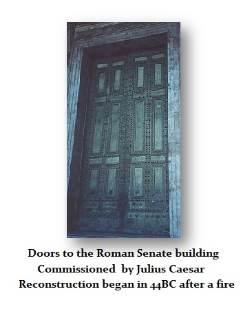 DOORS to Senate Commision by Julius Caesar