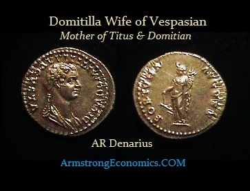 Domitilla-AR denarius