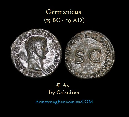Germanicus by Caludius As