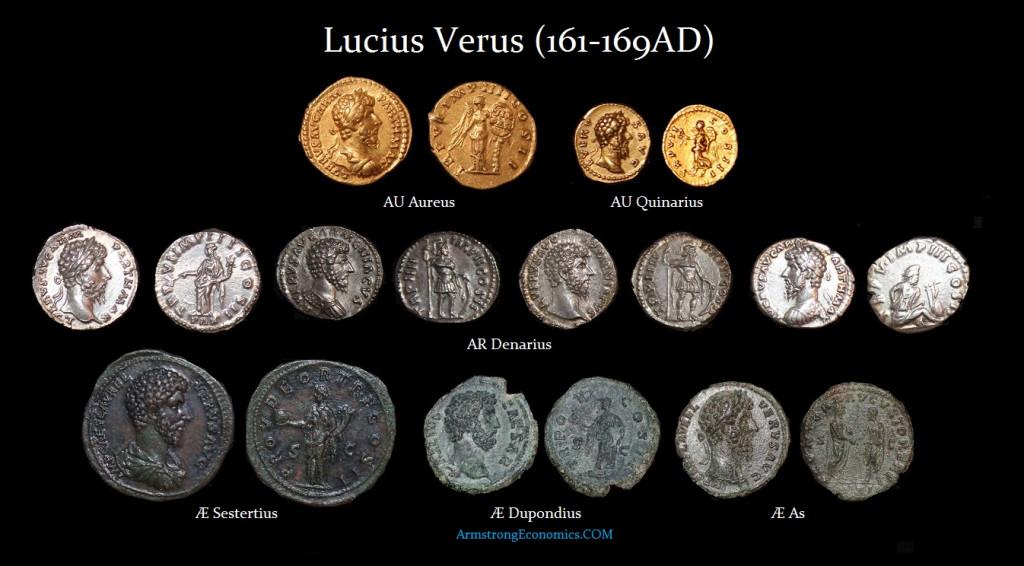 Lucius Verus DENOMINATIONS - R