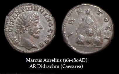 Marcus Aurelius didrach Caesarea