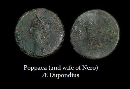 POPPAEA AE Dupondius-R