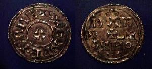 EADGAR silver penny cross