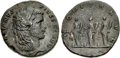 Gallienus AD 253-268 Æ Medallion (34,5mm, 27,99) Rome mint