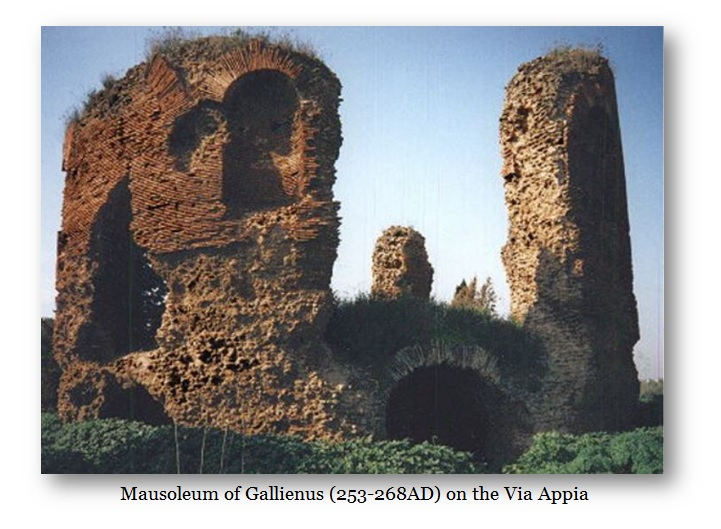 Gallienus Tomb via Appia