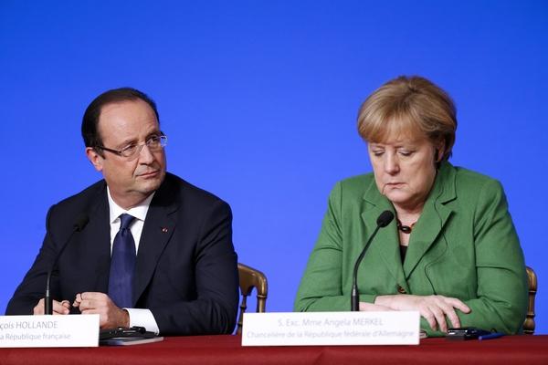 Hollande-Merkel