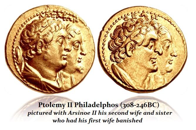 Ptolemy-II + Arsinoe II AU