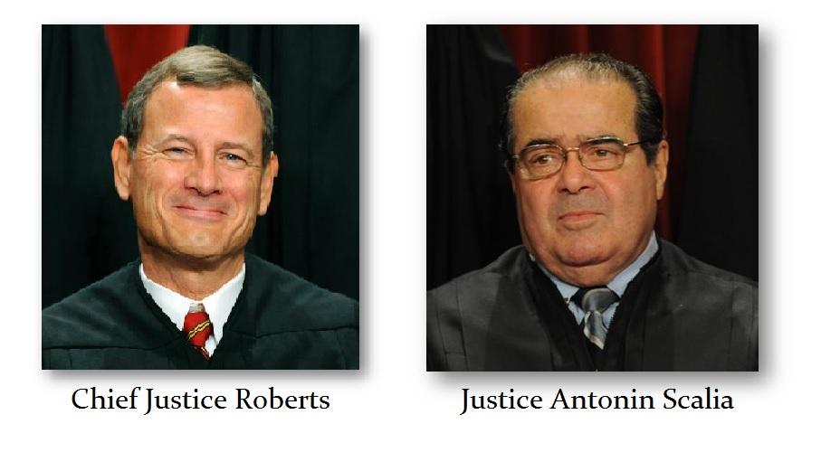 Roberts v Scalia