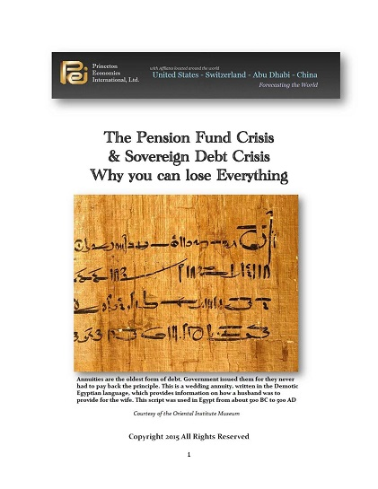 The Pension Crisis Cover