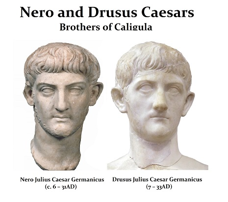Nero and Drusus Caesars - r