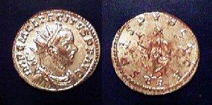 TACITUS Antoninianus Silver Plated