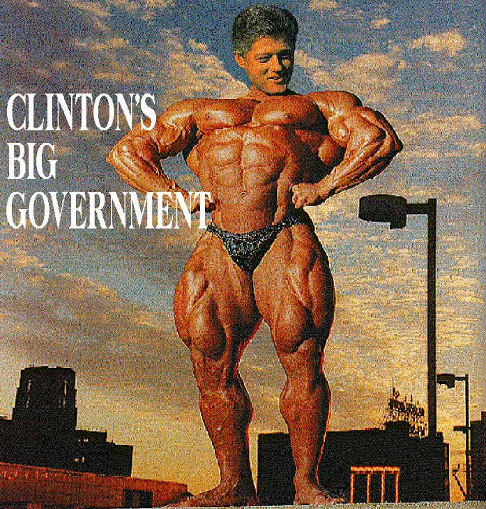 Clinton-Big-Gov - R