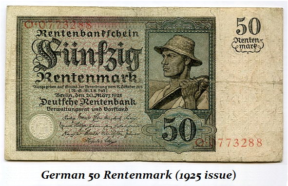 German-1925-Rentenmark