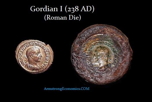 Gordian I Roman Die