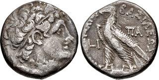 Ptolemy XII debased tetradrachm