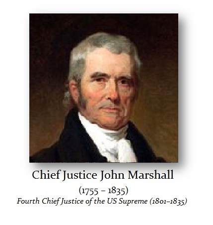 Marshall John Chief Justice - 1
