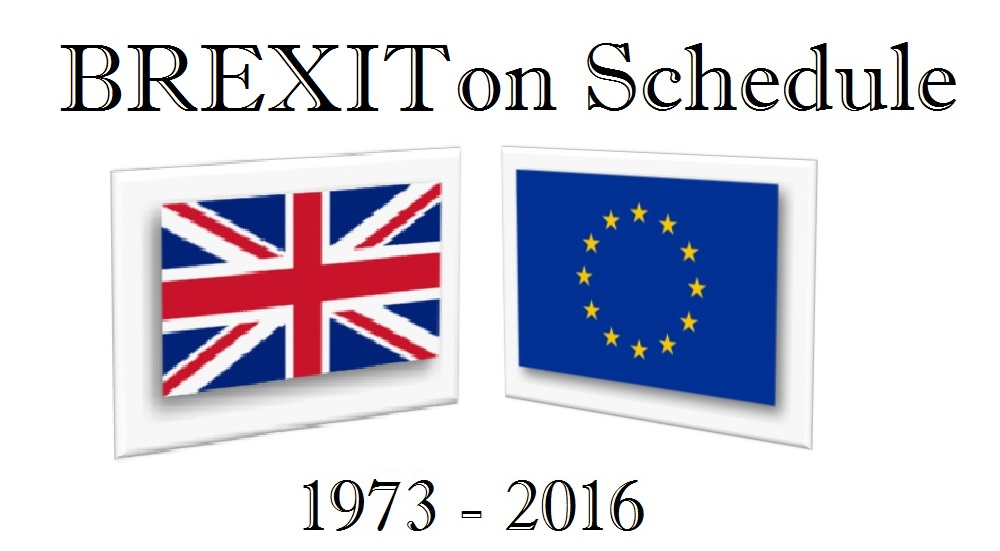 BREXIT On Schedule