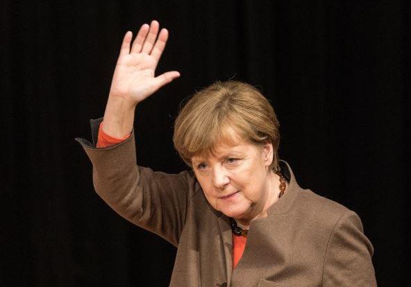 Merkel-Good Bye'