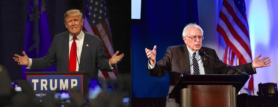 Trump-Sanders-1