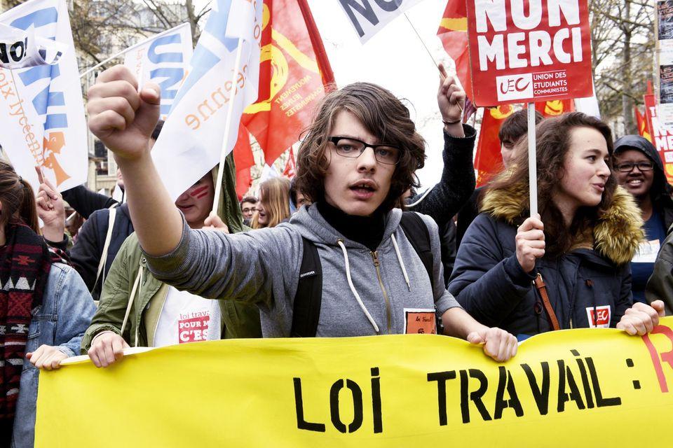 Trade Union Protest June 2016