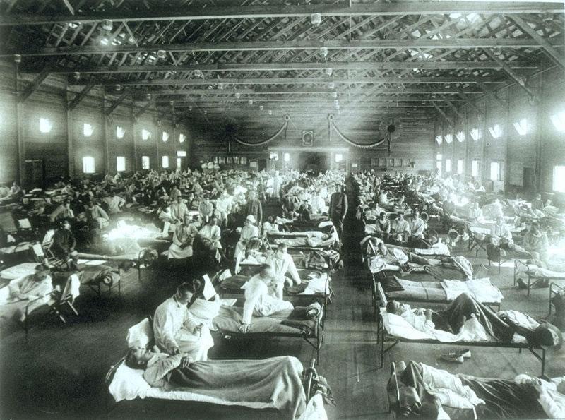 1918 InfluenzaHospital