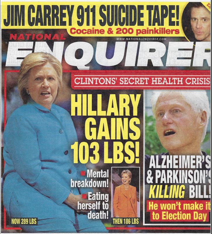 Enquirer-Clintons