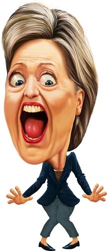 Hillary Cartoon