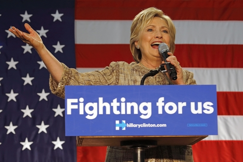 Hillary Fight for Us