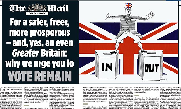 Daily Mail Remain