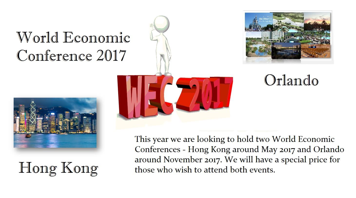 2017 World Economic Conference | Armstrong Economics