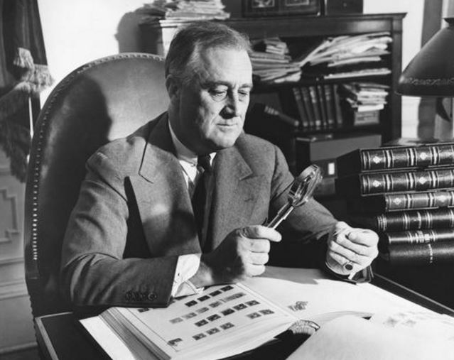 FDR Stamp Collector