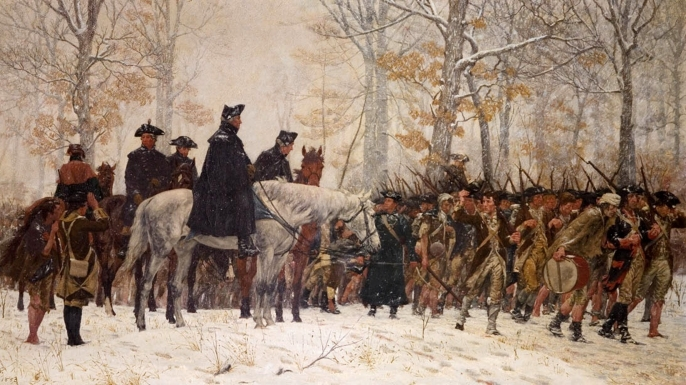 VALLEY-FORGE winter 1777-1778