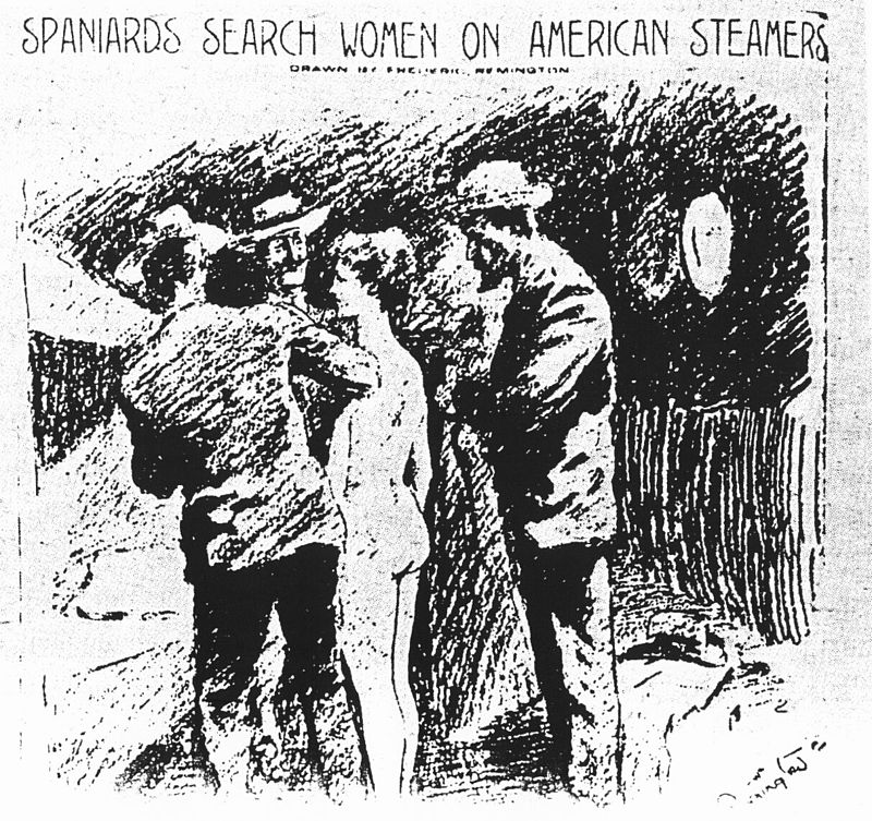 Spaniards_search_women_1898