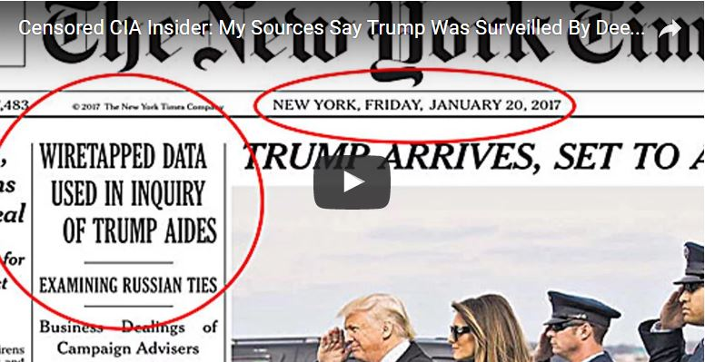 NYT Jan 20 2017 Trump Wiretap