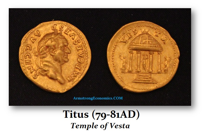 Titus AU Aureus Temple of Vesta