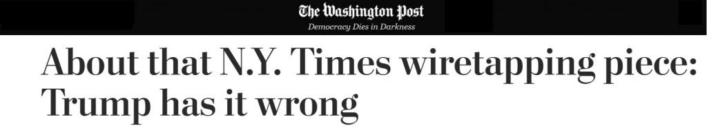 Wiretap Washington Post