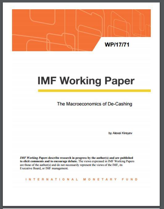 IMF De-Cashing