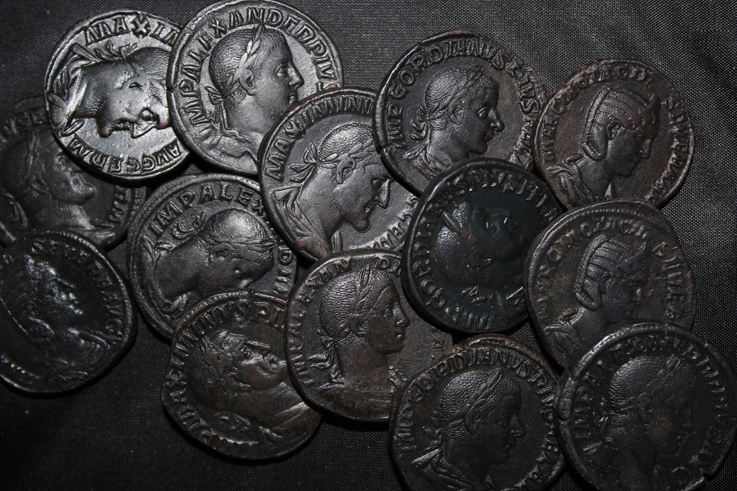 Hoards of Ancient Coins Including Biblical Widow Mites
