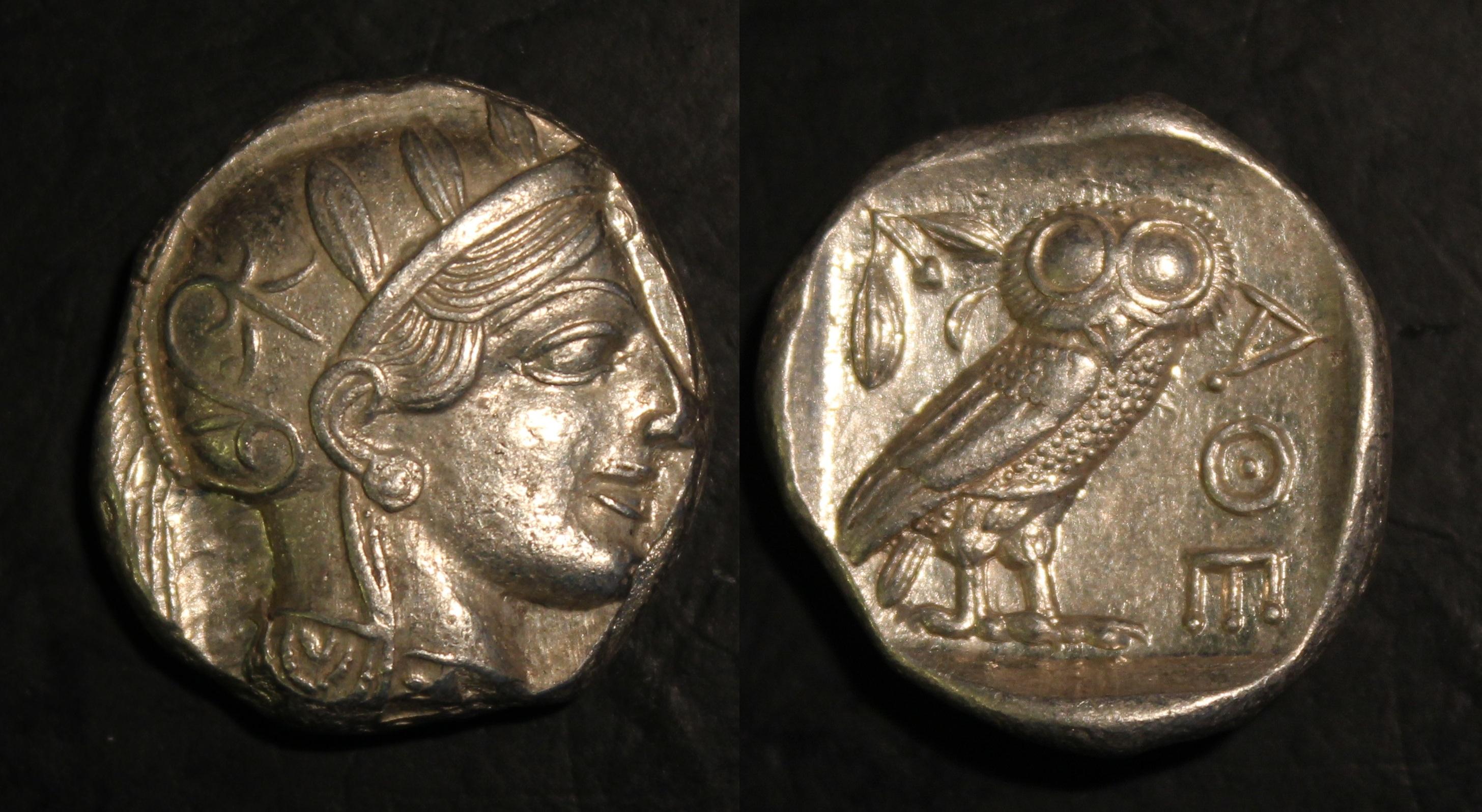 454-404 Bc C Shop For Cheap Attic Ar Tetradrachm. Athens