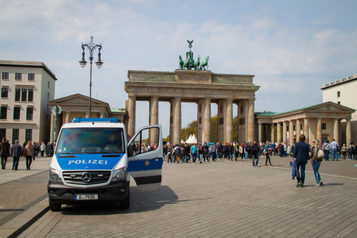 Youth Attack Berlin Police